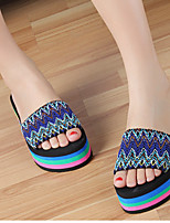 Women's Sandals Spring / Summer / Fall Comfort Polyester Casual Platform Others Green / Red Others