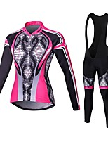 Cycling Jersey  Pants/JerseyTights / Tights Women's Long SleeveBreathable / High Breathability