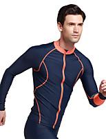 Sport Herrn Bademode / Neoprenanzug / Oberteile Taucheranzug UV-resistant / Sanft / Sonnenschutz Dive Skins Under 1.5 mm SchwarzL / XL /