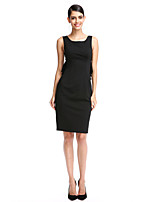 TS Couture® Cocktail Party Dress - Elegant Sheath / Column Scoop Knee-length Polyester with