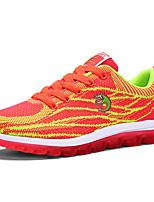 Women's Sneakers Spring / Fall Comfort PU Casual Black / Green / Pink / Purple / Red / Gray / Orange Walking / Others