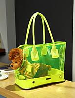 Кошка / Собака Переезд и перевозные рюкзаки / Слинг Животные Корпусы Компактность Белый / Желтый / Розоватый Резина