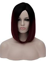 son la peluca de la peluca de Harajuku Lolita cospplay animación gradiente parcial.