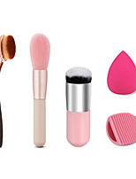 Toothbrush Synthetic Hair Professional / Blush Brush / Kabuki brush / Cleaning Brush Egg And Makeup Sponge