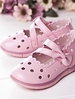 Girl's Sandals Summer Round Toe Casual Flat Heel Magic Tape Pink / White Others