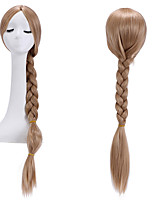 Cosplay Wigs Rapunzel & Tangled Wig Long Hair Wigs With Ponytails Hollywood Costume Wig