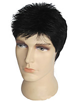 Human Hair Man Wigs Natural Color Made By Perfect Handcraft Toupe Men's Human Hair Wigs