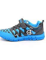 Boy's Flats Spring / Summer / Fall / Winter Round Toe PU Casual Flat Heel Others / Hook & Loop / Lace-up Blue Others