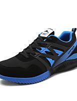 Men's Sneakers Spring / Fall Comfort Fabric Casual Flat Heel  Black / Blue / Orange Sneaker