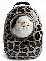 Cat / Dog Carrier & Travel Backpack / Astronaut Capsule Carrier Pet Carrier Portable / Leopard / Zebra Plastic
