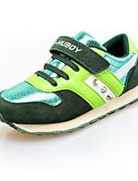 Jungen-Sneaker-Lässig-PU-Flacher Absatz-Komfort-Blau Grün Rosa