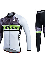 Sports® Cycling Jersey with Tights Men's / Unisex Long Sleeve Breathable / Quick Dry / Moisture Permeability / 3D Pad / Sweat-wicking Bike