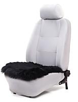 autoyouth 1pcs assento de almofadas de assento de luxo lã carro preto cobre fit todos os acessórios do interior do veículo marca