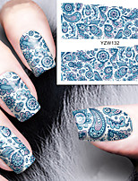 Totem Pattern Manicure Fashion Thin Waterproof Environmental Protection Manicure Stickers Decals