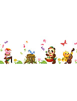 Wall Stickers Wall Decals Style Lovely Owl Panda Animal Concert PVC Wall Stickers