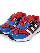 Boy's Flats Spring / Fall Comfort / Round Toe PU Casual Flat Heel Others / Hook & Loop / Lace-up Red / Orange