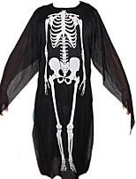 Halloween Wear Printed Skeleton Costumes Adult Ghost Garments Skeleton For Child&Adult Plus Size Party Decorations
