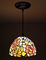 25W Pendant Light   Traditional/Classic / Rustic/Lodge / Tiffany Painting Feature for Mini Style MetalLiving Room /