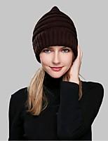 Informeel-Acryl-Winter-Beanie / Slouchy-Dames