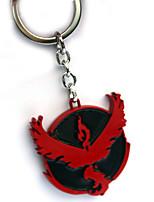 Mehre Accessoires Inspiriert von Pocket Monster PIKA PIKA Anime Cosplay Accessoires Schlüsselanhänger Rot Legierung Mann / Frau