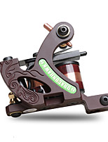 Tetovací strojek s cívkou Slitina železa Linka Dvojitá cívka. 8 závinů 6-8 4700