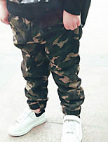 Boy's Casual/Daily Print PantsOthers Fall Green