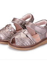 Girl's Sandals Summer Sandals Leather Casual Flat Heel Others White / Gold Others