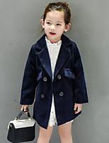 Completo e giacca Girl Casual Tinta unita Rayon Inverno / Primavera / Autunno Blu / Rosso