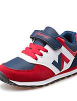 Jungen-Sneaker-Lässig-PU-Flacher Absatz-Komfort-Blau Rot Königsblau