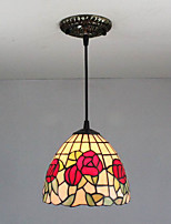 25W Pendant Light   Tiffany / Vintage / Country Painting Feature for Mini Style Metal Bedroom / Entry