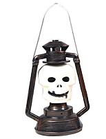 1ks Halloween party rekvizity dodává kostra duch světla dýně lampa hudební lampa