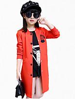 Completo e giacca / Impermeabile Girl Casual Con stampe Cotone / Poliestere Per tutte le stagioni / Primavera / AutunnoNero / Rosa /