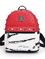 Casual Outdoor Shopping Backpack Women Others Pink Red Gray Black