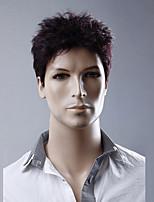 cor fuxia curto perucas encaracolado sem tampa perucas sintéticas para as mulheres