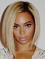 la mode des cheveux humains droite perruques pour femme