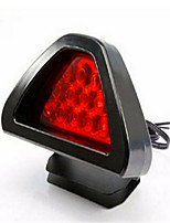 luz de freno del automóvil estallido llevado triángulo intermitente del freno de la lámpara general modificado de las luces traseras del
