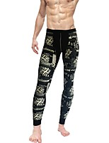 Men Print LeggingCotton