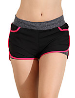Штаны для йоги Спортивный костюм Дышащий / Высокаявоздухопроницаемость(>15 001г) / Сжатие видеоизображений / Удобный Заниженная талия