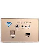 Champagne Gold Wall Wireless Socket