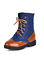 Women's Boots Fall / Winter Combat Boots PU Dress / Casual Flat Heel Others Black / Brown Others
