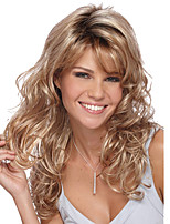Blonde Fashion Body Wave Sexy Beauty Synthetic Wig for European and American Ladies Heat Resistant