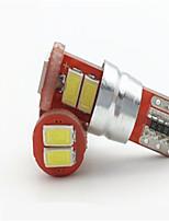 5W T10 lâmpada astigmatismo 6smd 56.305.730 levou carro decodificação exibição lâmpada ampla