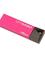 kingston stylo dtm30 lecteur 16gb usb 3.0 mini-métal dur bâton pendrive flash