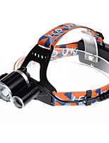 U`King® Headlamps / Headlamp Straps LED 5000LM Lumens 4 Mode Cree XM-L T6 18650 Rechargeable / Compact Size / Emergency
