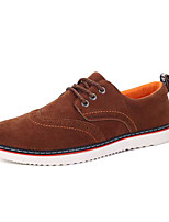 Men's Sneakers Spring / Fall Comfort PU Casual Flat HeelBlack / Brown / Gray Sneaker