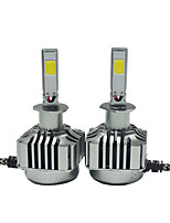 2pcs  White Color Light 6000K  High Quality Daytime Running Light H1 H3