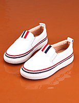 Boy's Loafers & Slip-Ons Spring Summer Leather Casual Flat Heel Others Blue Yellow White Others