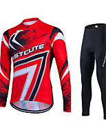 Red Style Spring Autumn Long Sleeve Cycling Jersey Breathable Bicycle Sports wear Mountain Bike Clothings Ropa Ciclismo