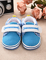 Unisex Flats Spring Fall Canvas Casual Flat Heel Others Blue Pink Red Other