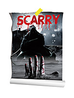 3D Wall Stickers Wall Decals Style Bloody Horror Hand PVC Wall Stickers